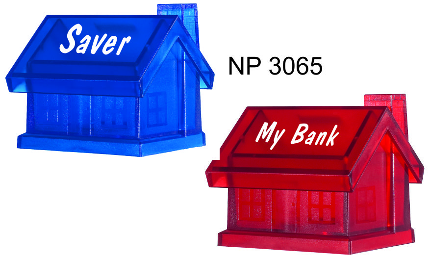 NP3065: House Shaped Piggy Bank