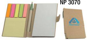 NP3070: Eco Jotter & Pen