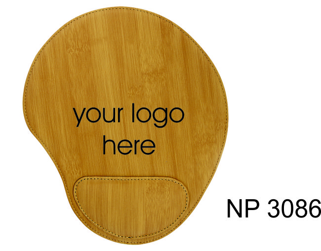 NP3086: Bamboo Look Mouse Pad