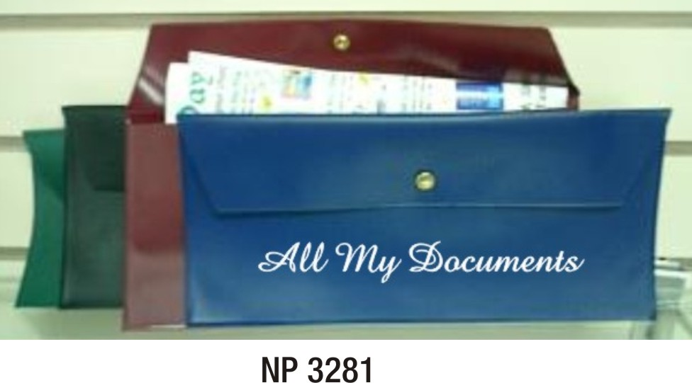 NP3281: Faulty Document Pouch (unprinted)