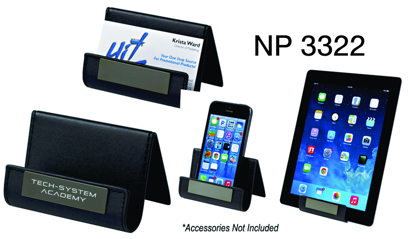 NP3322: Executive Card & Media Holder