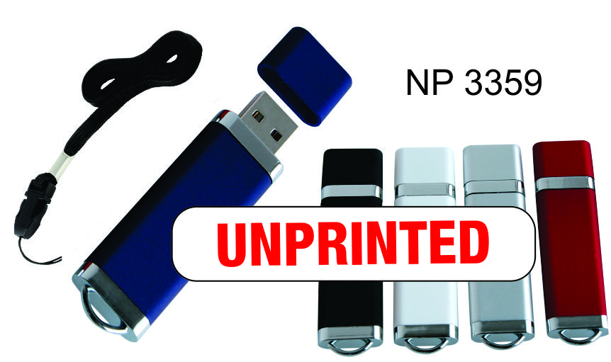 NP3359: Flash Drive (UNPRINTED)