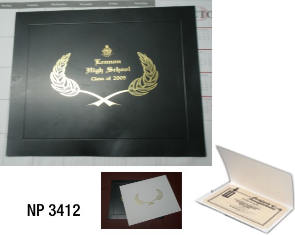 NP3412: Certificate Holder