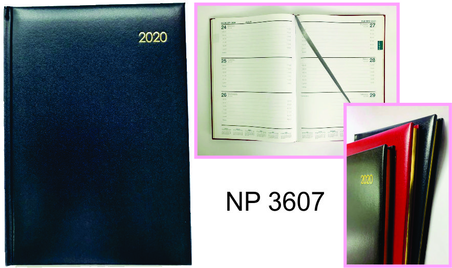 NP3607: Appointment Diary (hard cover)