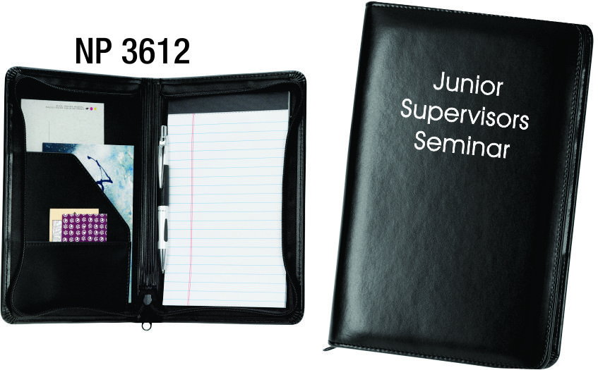 NP3612: Junior Zippered Portfolio