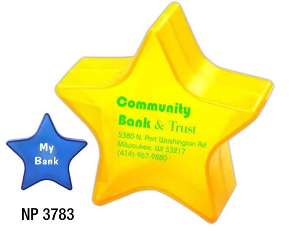 NP3783: Star Shaped Piggy Bank
