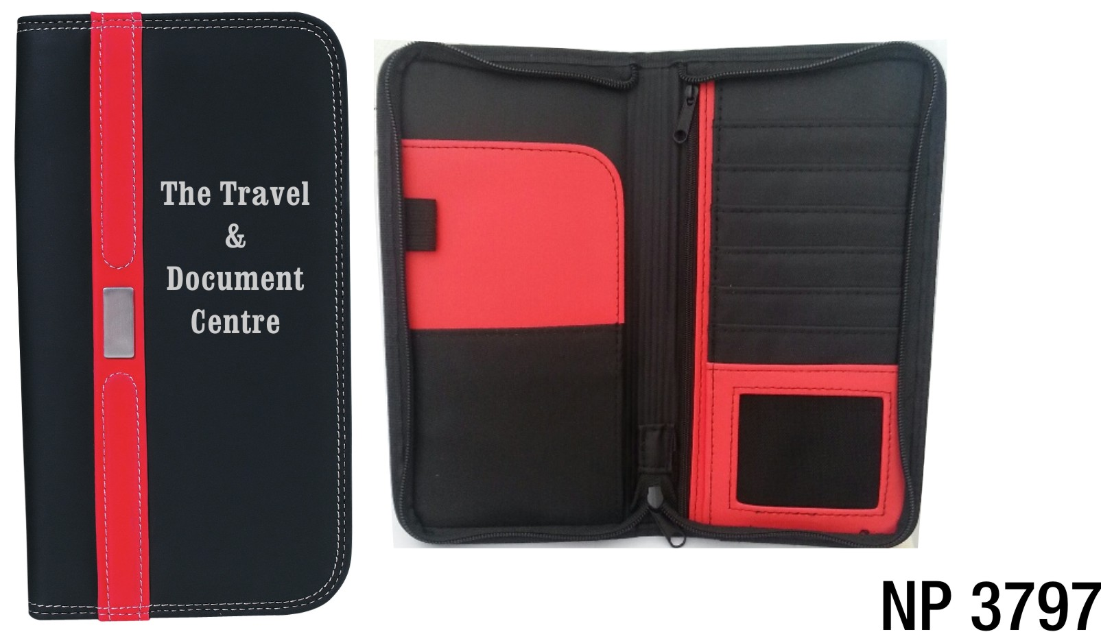 NP3797: Two Tone Document Case