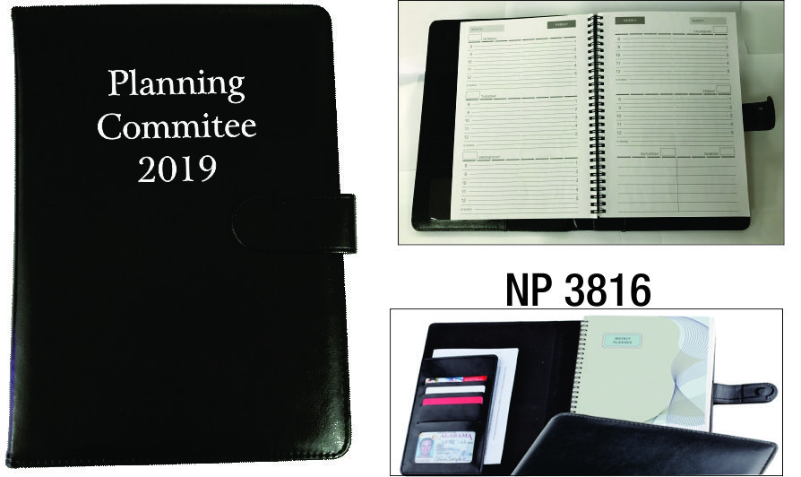 NP3816: Executive Non Dated Planner