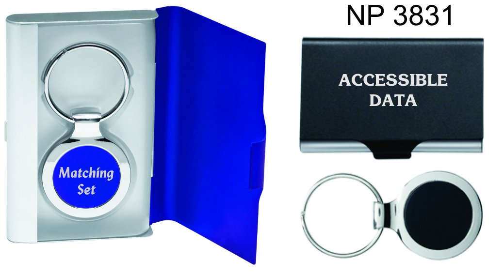 NP3831: Card Case & Key Ring Gift Set
