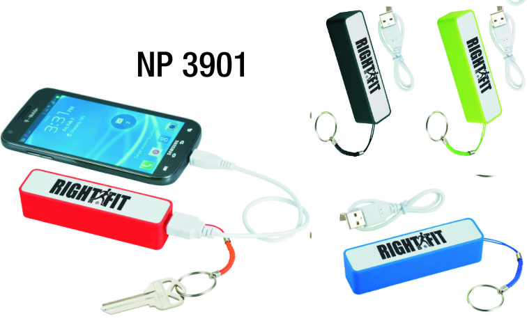 NP3901: Power Bank with Key Ring