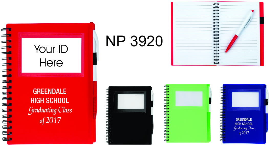NP3920: ID Notebook with Pen