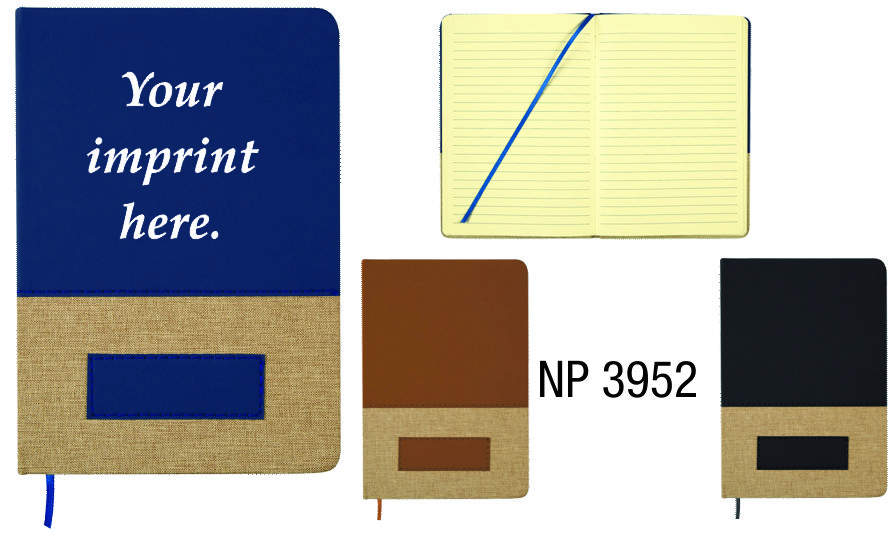 NP3952: Two Tone Notebook