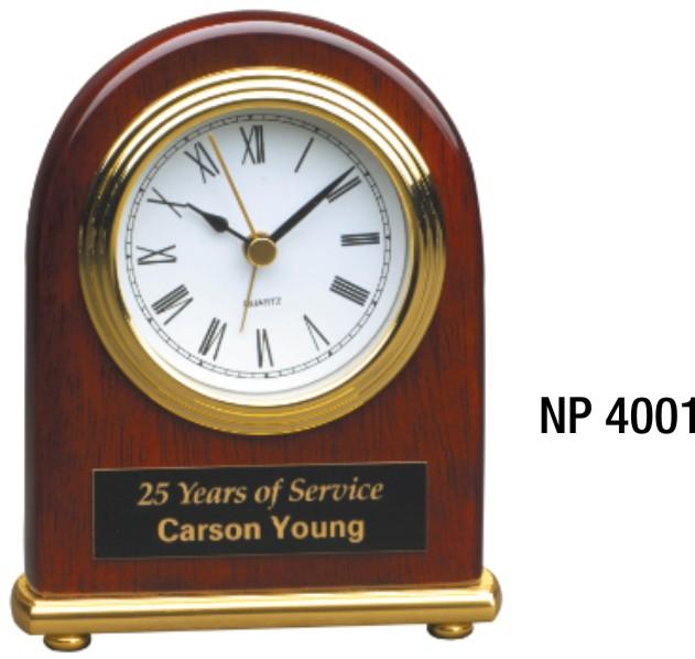 NP4001: The Executive Rosewood Clock