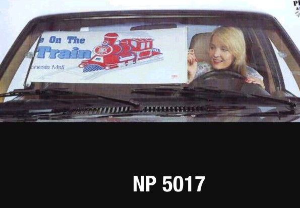 NP5017: Front Roller Auto Sunshade