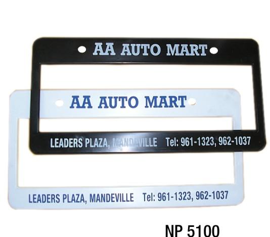 NP5100: Licence Frame