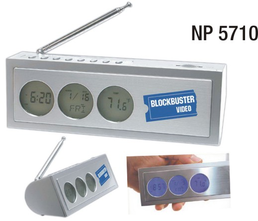 NP5710: Multi Function Clock / Radio