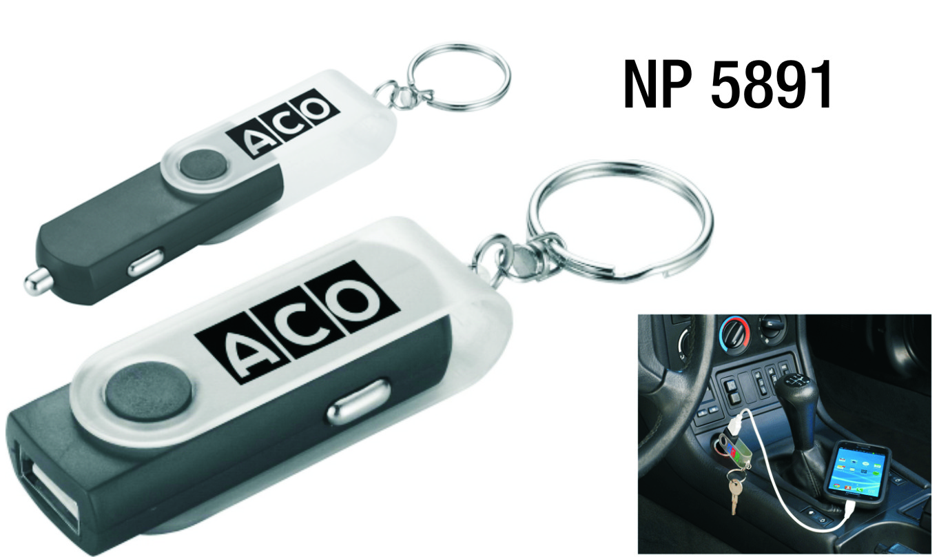 NP5891: Swivel Auto Charger