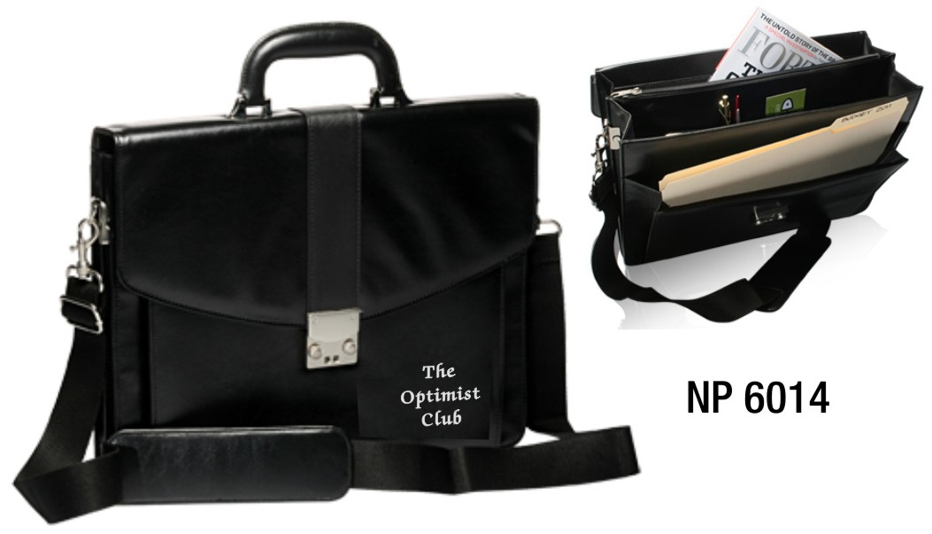 NP6014: The Leatherette Briefcase
