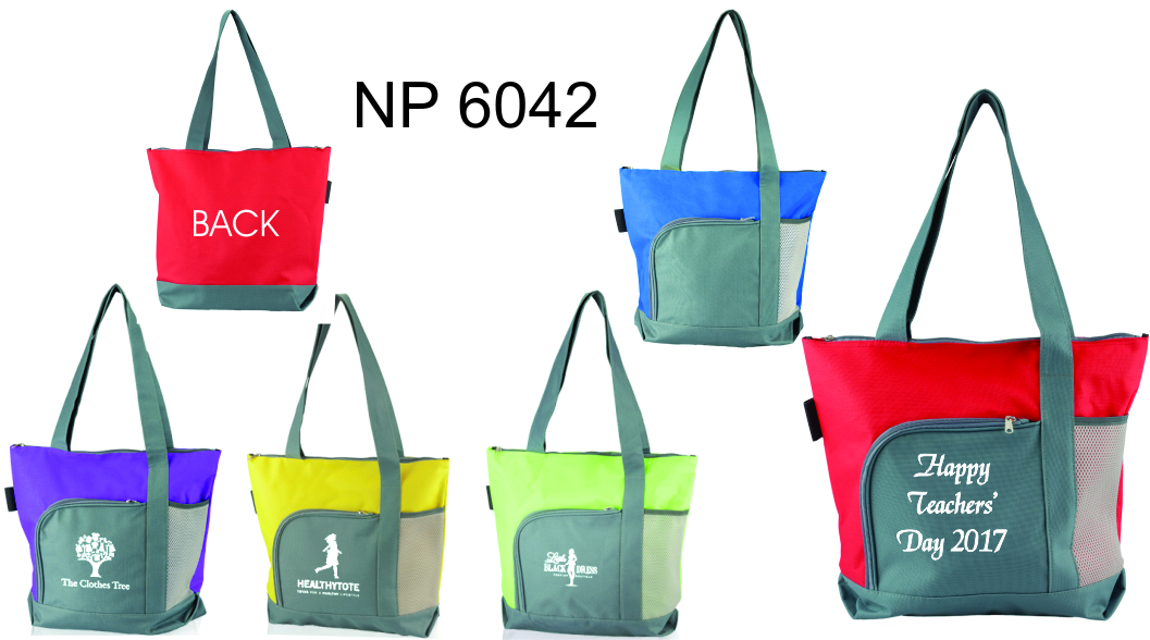NP6042: Deluxe Two Tone Bag
