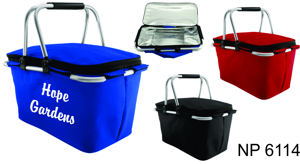 NP6114: Insulated Picnic Basket