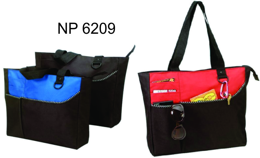 NP6209: Deluxe Zippered Tote