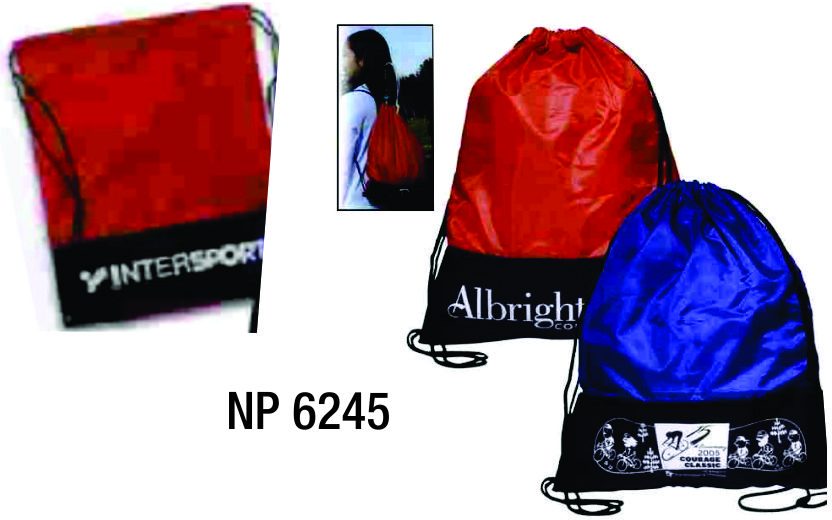 NP6245: Drawstring Backpack