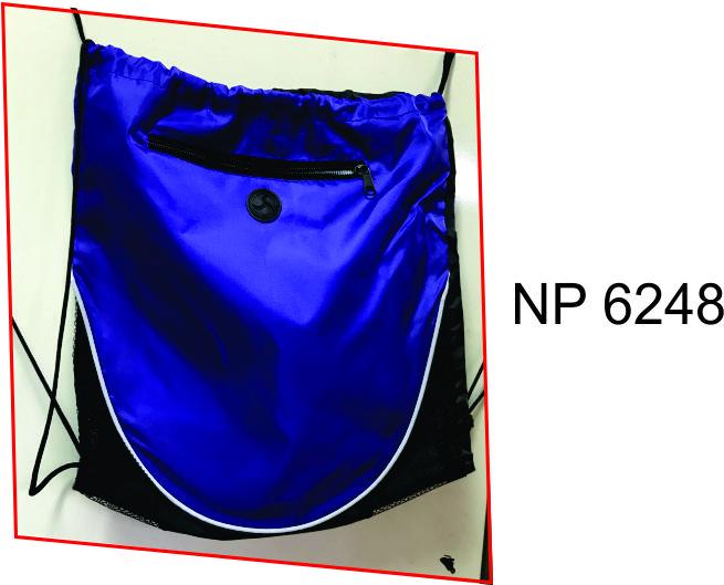 NP6248: Purple Drawstring Bag