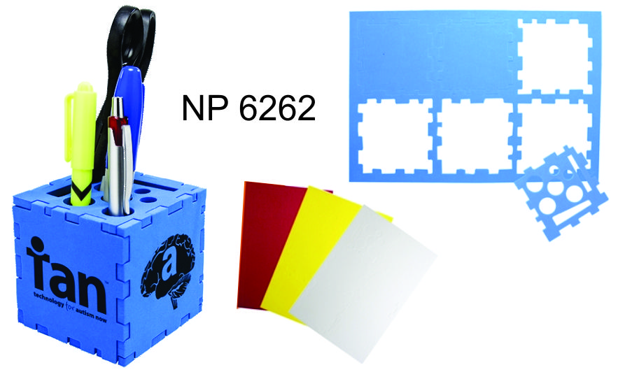 NP6262: Puzzle Pen Holder