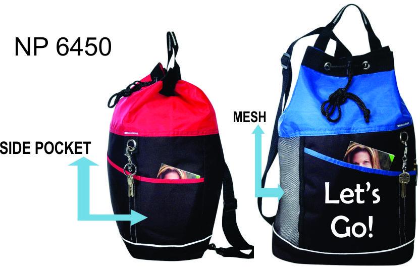 NP6450: Drawstring Mesh Bodypack