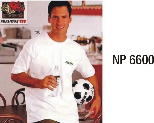 NP6600: White T-shirt