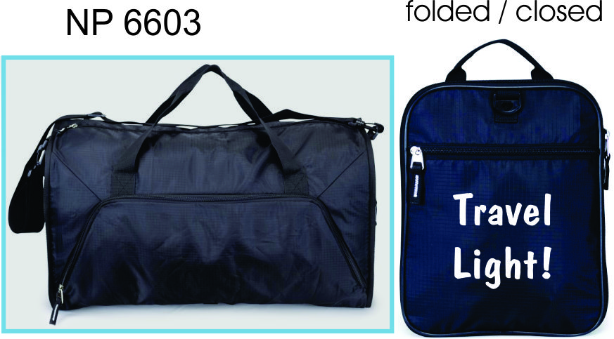 NP6603: Deluxe Foldable Duffel