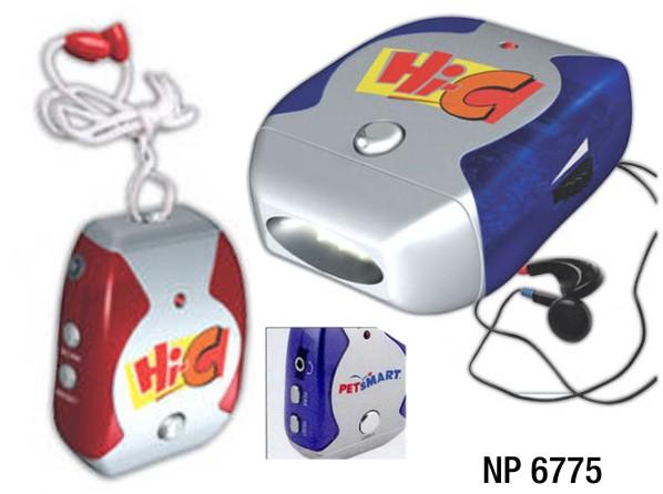NP6775: Necklace Radio / Flashlight