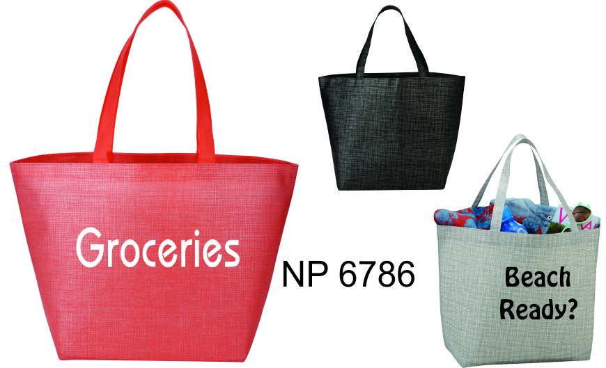 NP6786: Large Cross Weave Tote