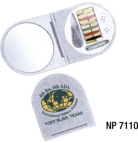 NP7110: Compact Sewing Kit with Mirror