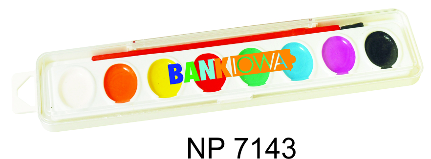 NP7143: Watercolour Paint Set