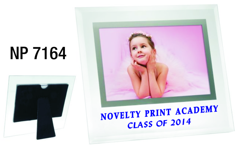 NP7164: Beveled Glass Photo Frame
