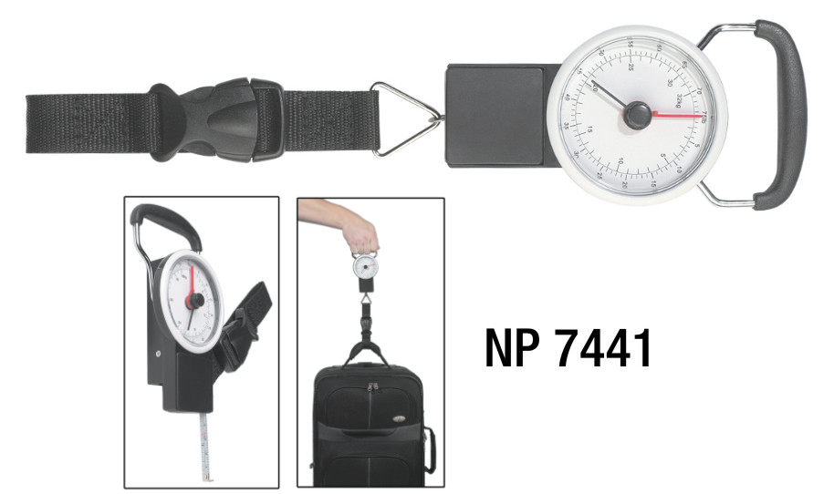 NP7441: Luggage Scale with Tape Measure