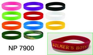 NP7900: Silicone Bracelet