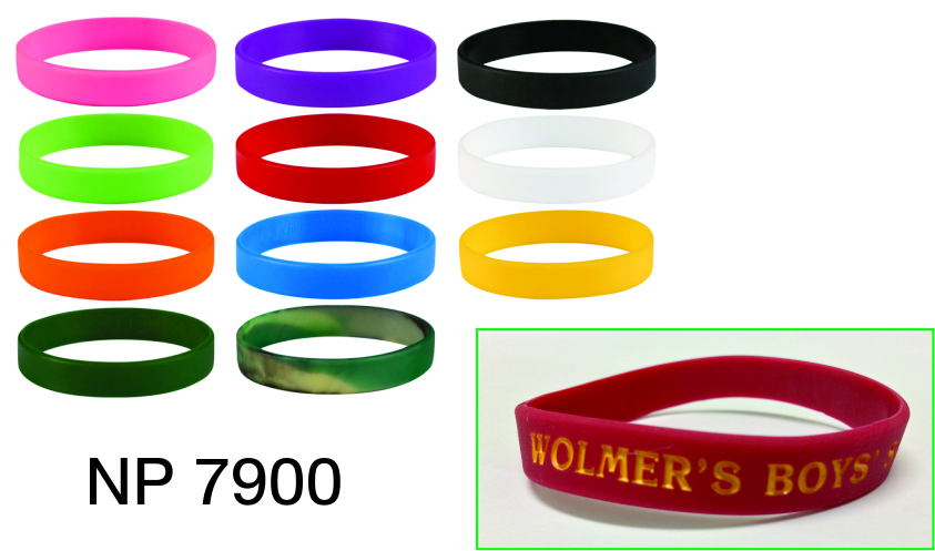 NP7900: Silicone Bracelet
