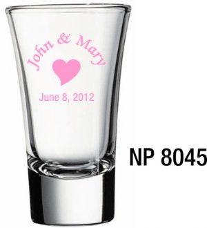 NP8045: Cordial Glass