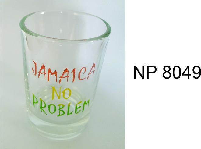 NP8049: No Problem Juice Glass                                                      Glass