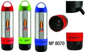NP8070: Bluetooth Water Bottle