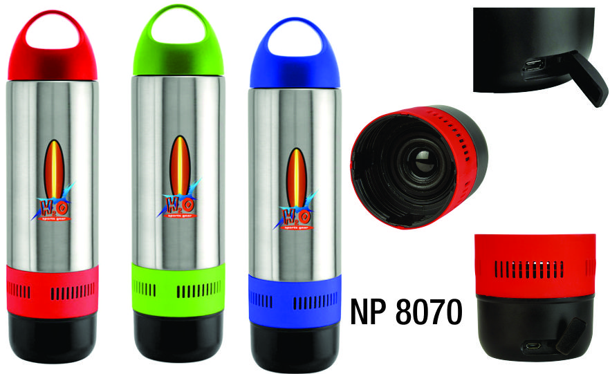 NP8070: Bluetooth Water Bottle