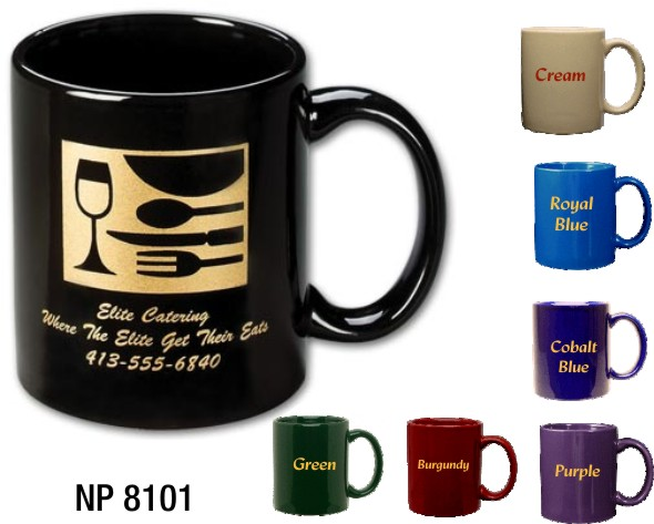 NP8101: Coloured Coffee Mug