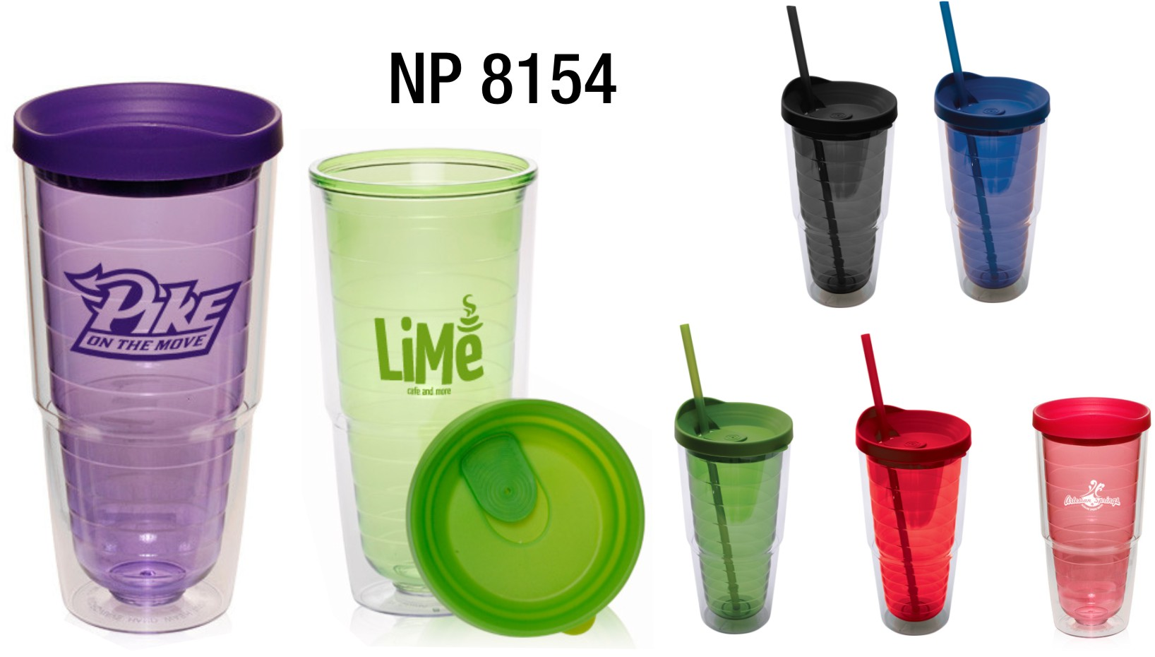 NP8154: Jumbo Tumbler with Lid