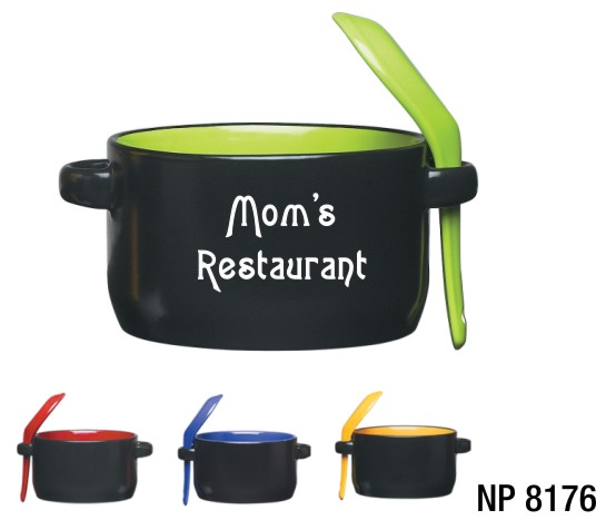 NP8176: Soup Mug with Spoon