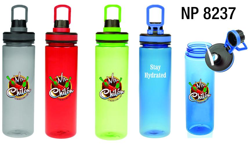 NP8237: Translucent Sports Bottle