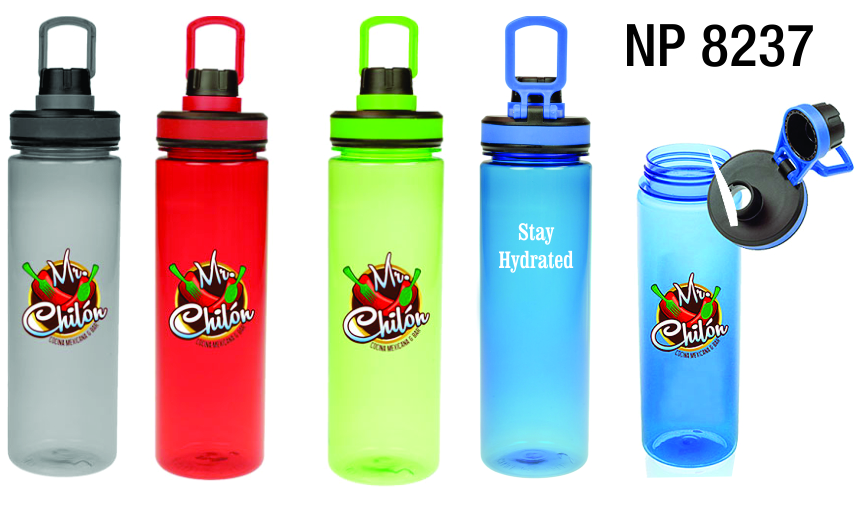 NP8237: Translucent Sports Bottle