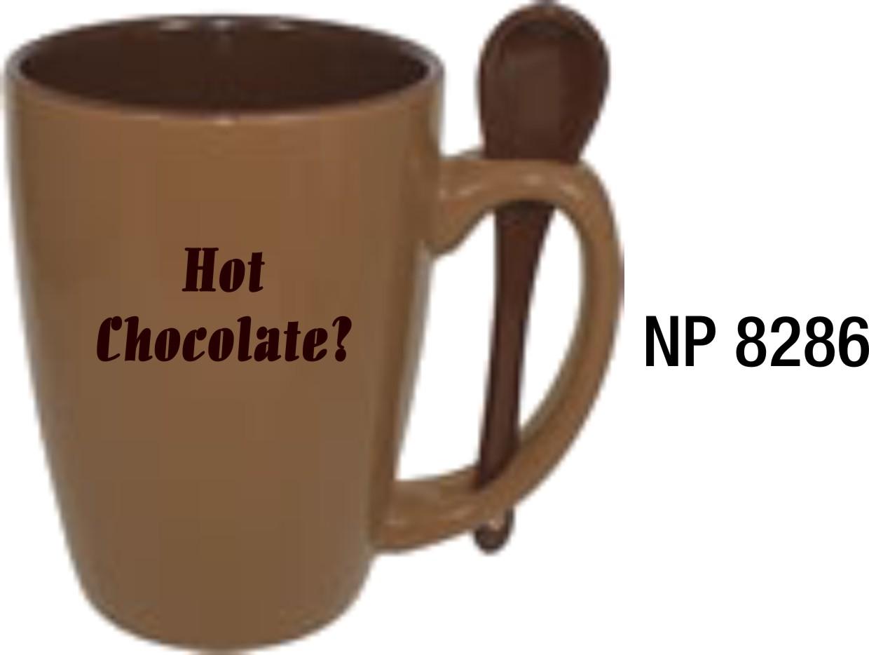 NP8286: Chocolate Spoon Mug