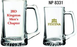 NP8331: Glass Beer Mug